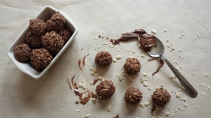 No Bake Nutella Bites