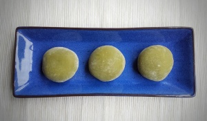 Matcha (Green Tea) Mochi
