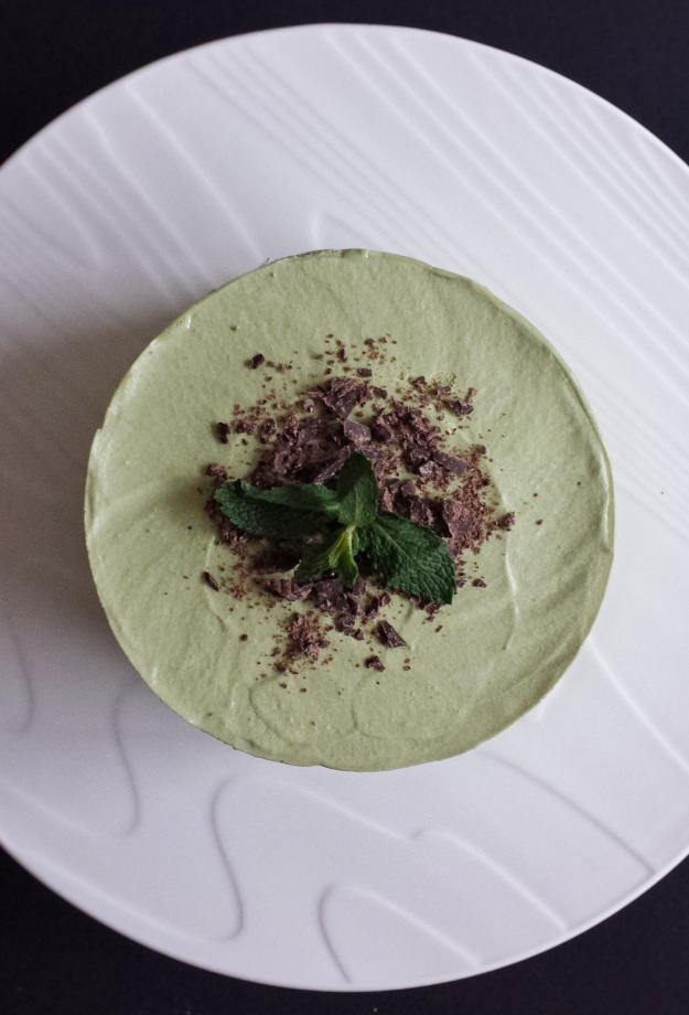 Matcha (Green Tea) Mousse Cake