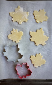 Maple Cookies for Canada 150